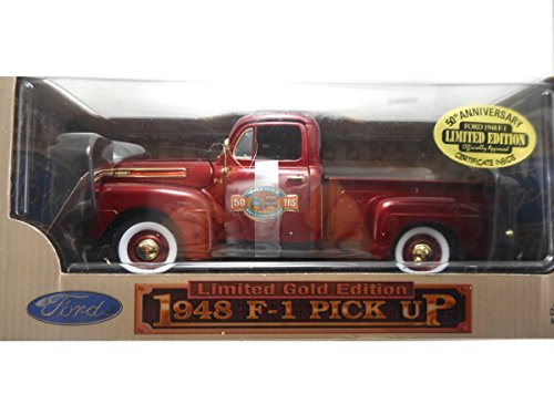 Yat Ming 1948 F-1 Ford Pick up Truck 50th Anniversay 1:18 Limited Gold Edition