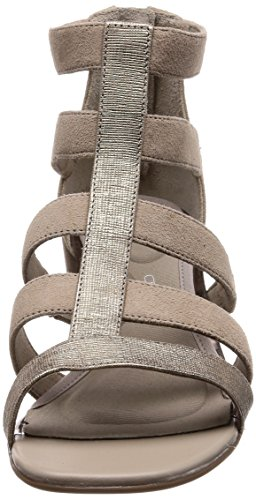 Bout Alaina Light Ouvert Sandales Caged Total Motion Femme Gris Grey Rockport xpqwAXC