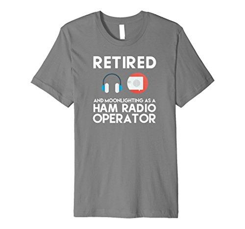 Retired Ham Radio Operator T-Shirt Retirement Father Gift ()