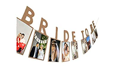 E&L Bride to be Photo Banner, Wedding Decoration, Bridal Shower Decoration