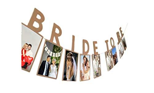 E&L Bride to be Photo Banner, Wedding Decoration, Bridal Shower Decoration]()