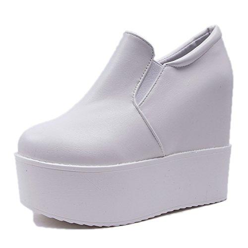 Super High Heel Plateau Schuhe,Die Schuhe Des Fußes In Der Kiefer-kuchen,Loafer Schuhe,Koreanische Version Hundert Studenten Freizeit Schuhe A
