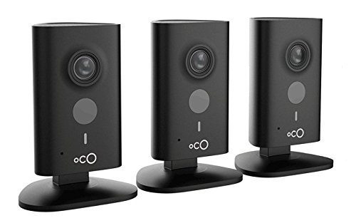 Oco HD Security Monitoring Camera with Micro SD Card and Cloud Storage (3-Pack) by OCO