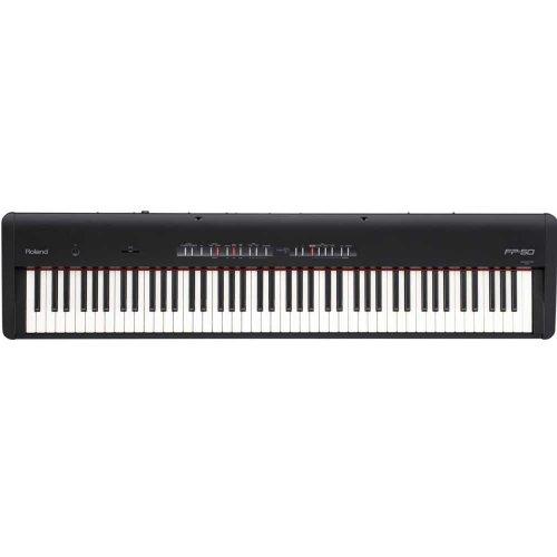 Roland FP 50 Digital Piano Black
