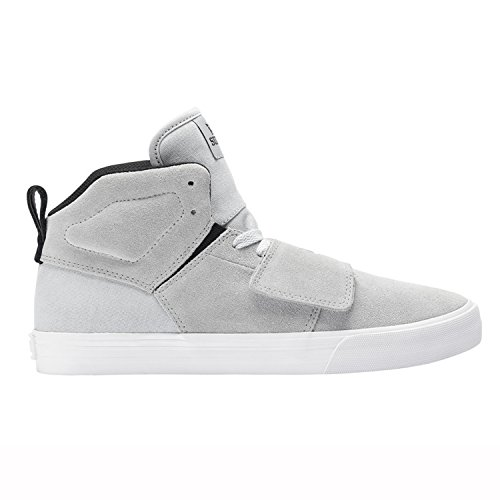SUPRA Skateboard Shoes ROCK LT.GRAY-WHITE