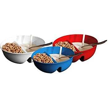 Amazon anti soggy cereal bowl by just solutions keeps your anti soggy cereal bowl by just solutions keeps your cereal fresh and crunchy ccuart Choice Image