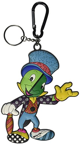 Disney by Britto from Enesco Jiminy Cricket Keychain 4.5 IN Unisex Cricket