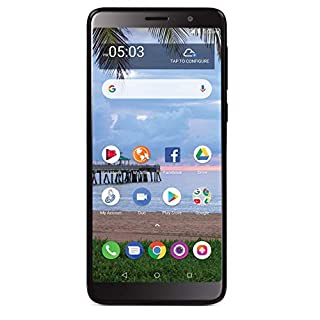 Tracfone TCL A1X 4G LTE Prepaid Smartphone (Locked) - Black - 16GB - SIM Card Included - CDMA