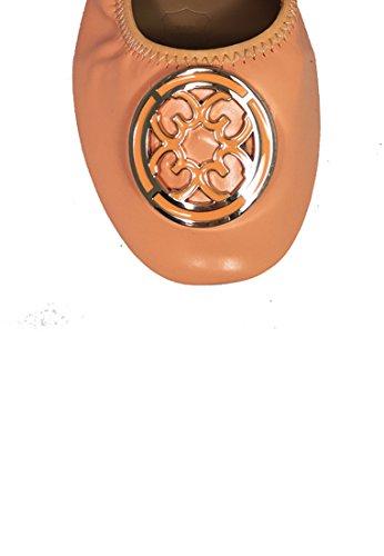 Matt rimmed Sale Be Color Beme Flats Orange Surface Me Foldable pqXAFw7