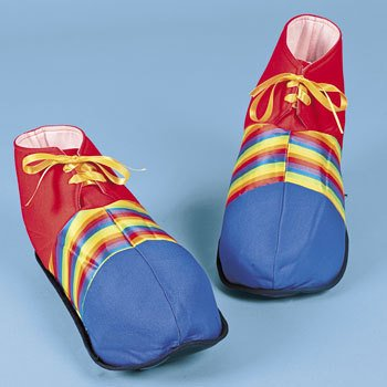 (Jumbo Clown Shoes - Costumes & Accessories & Props & Kits)