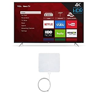 TCL 65S405 65-Inch 4K Ultra HD Roku Smart LED TV (2017 Model