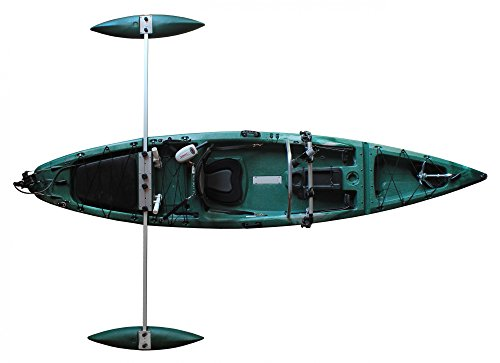 Tahe Marine Sit on Top Kajak Fit 123 mit Ausleger und Motor perfektes Angelkajak, Farbe:Camouflage;Ausstattung:Mit Motor und Anglerausstattung
