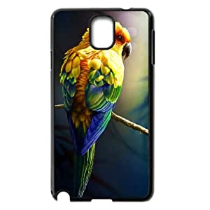 AKERCY Kissing Parrots Bird Phone Case For Samsung Galaxy note 3 N9000 [Pattern-5]
