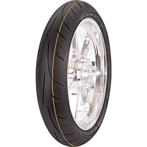 Avon Tyres AV79 3D Ultra Sport Tire - Front - 120/60ZR-17 , Position: Front, Tire Size: 120/60-17, Rim Size: 18, Load Rating: 55, Speed Rating: W, Tire Type: Street, Tire Application: Sport, Tire Construction: Radial 4520012