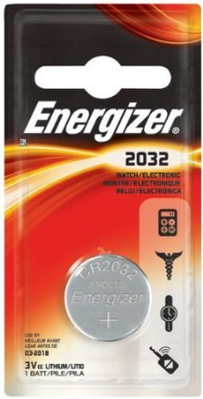 Energizer ECR2032BP 3 Volt Watch & Calculator (Ecr2032bp Watch)