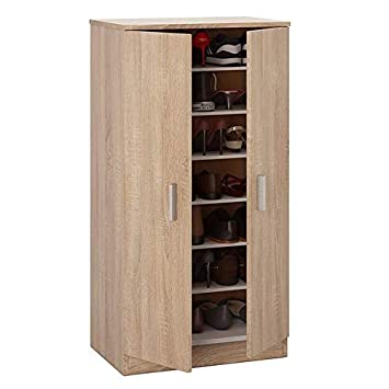 Direct Furniture Suppliers Bellini Shoe Cabinet In Canadian Oak 20
