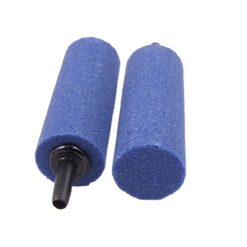 UPC 610256390666, Jardin Aquarium Fish Tank Cylinder Bubble Air Stones, 2-Piece, Blue