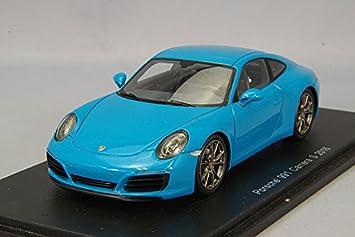 Spark - s4937 - Porsche 911/91 Carrera S - 2016 - Escala 1/43 - Turquesa: Amazon.es: Juguetes y juegos