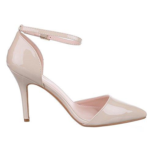 Ital-Design - Plataforma Mujer Beige - beige