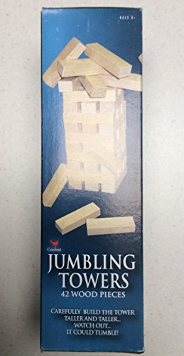 Jumbling Towers Solid Wood Pieces