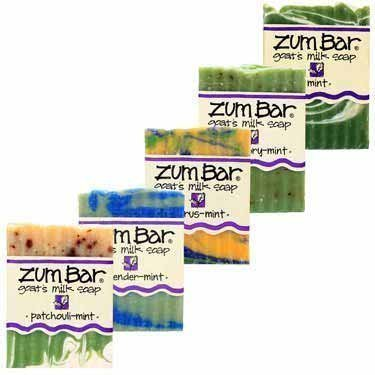 Mint Five Ways Zum Bars by Indigo Wild (Indigo Wild Mint Soap)
