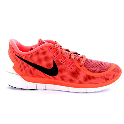 Lava Free Nike Wmns 5 0 Hot Donna Grey Scarpe Tumbled Orange Sportive Black 5qgzwrqR