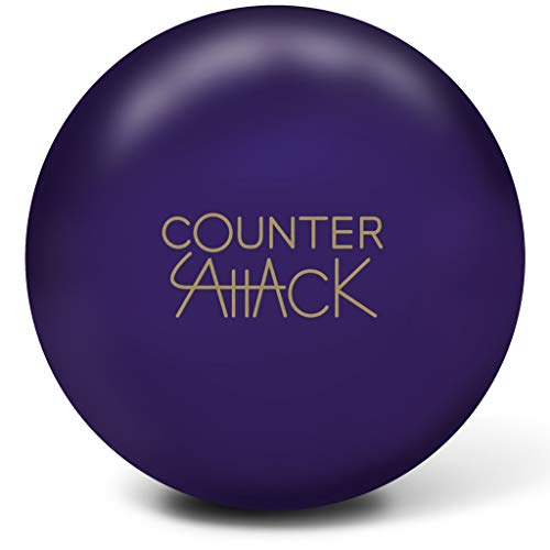 Radical Counter Attack Solid Bowling Ball- Purple Solid 16lbs