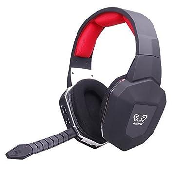EasySMX Auricular Inalámbrico para Juegos de 2.4GHz para XBOX 360/XBOX ONE /PS