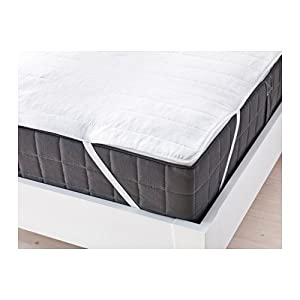 IKEA ANGSVIDE Double Mattress Protector, White: Amazon.co