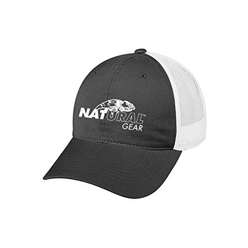 shback Logo Cap, Grey, OSFA (111GLMB) (Logo Natural)
