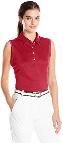 Cutter & Buck LCK08681 Ladies' S/L Clare Polo, Cardinal Red, XXL