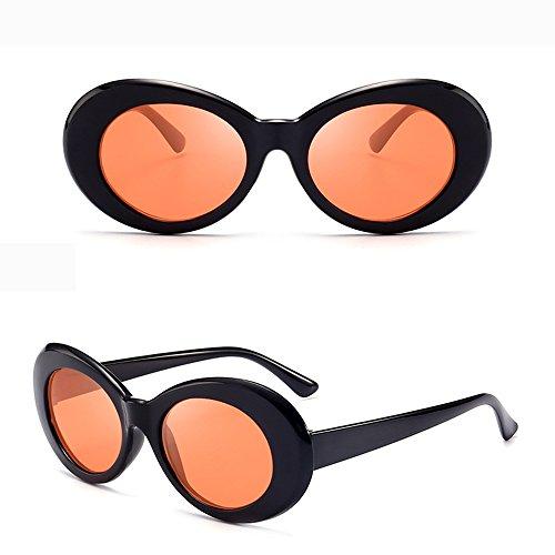 ad775c1b57 BestWare Vintage Sunglasses Classic Eyeware Glasses Oval Sun Glasses  Fashion Eyewear Fashion Shades black   orange