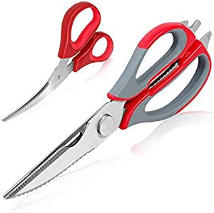 Win A Free Multi-purpose Kitchen Scissors – Stainless Steel Poultry…