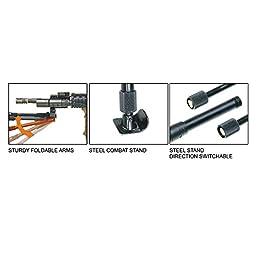 UTG Clamp-on Sniper Bipod, Steel Feet, Center Height 9\