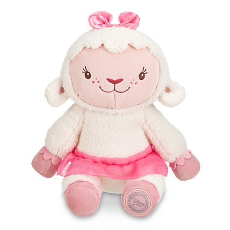 Doc Mcstuffins Lambie Stylised Plush Soft Toy - Figure - Posh Paws -