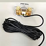 Custom Cable for Battery Monitor 26 AWG With