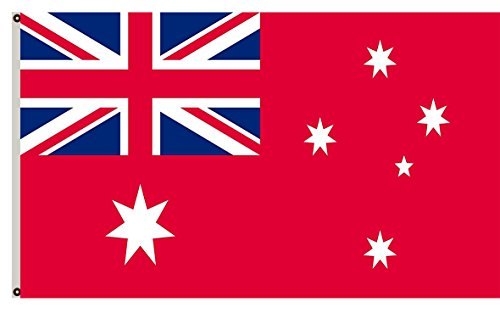 Fyon The Australian Red Ensign Banner Landscape Flag 6x10ft