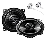 Pioneer TS-G1020S 420 Watts Max Power 4' 2-Way G-Series Coaxial Full Range Car Audio Stereo Speakers
