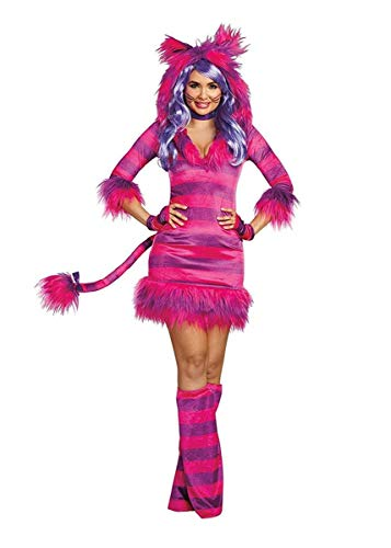 Dreamgirl Women's Colorful Magic Cat Storybook Costume