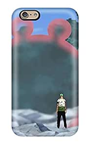 Top Quality Rugged One Piece Anime Roronoa Zoro Case Cover For Iphone 6