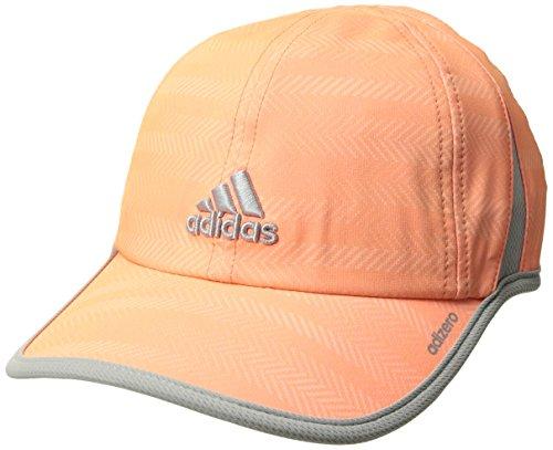 adidas Women's Adizero II Cap, Ratio Sun Glow/Clear Onix, One Size
