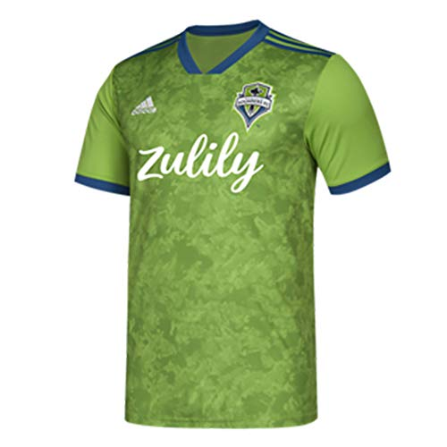adidas Men's Seattle Sounders FC Replica Jersey 2019 Home Kit - Mens Jersey Adidas Replica Home