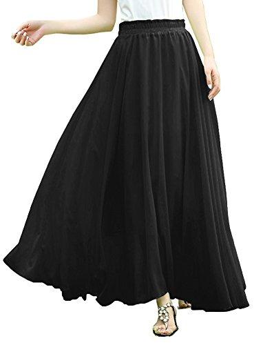 Women Length Elastic Pleated Chiffon product image