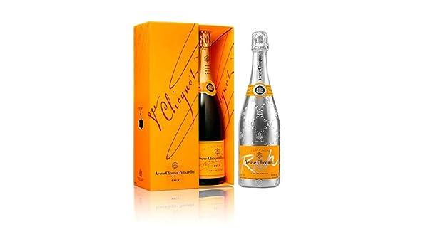 Lot duo champagne Veuve Clicquot brut con estuche y Rich: Amazon.es: Alimentación y bebidas