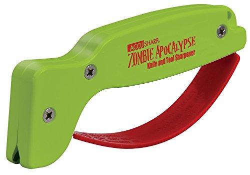 Accusharp Knife Sharpener - Accusharp 018C Knife and Tool Sharpener, Zombie Apocalypse