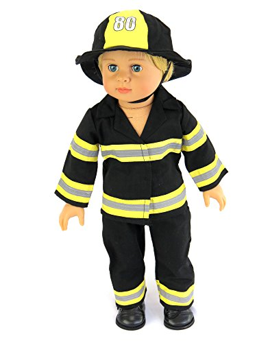 Fireman Outfit | Fits 18