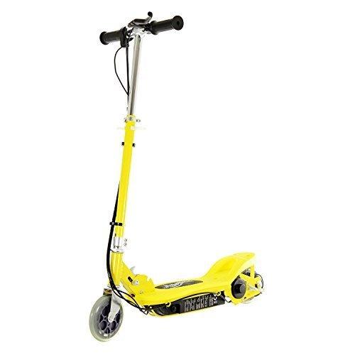 Airwave Scooter Électrique, Ride-on scooter électrique, E-Scooter, Design Moderne Repose-pieds - Jaune