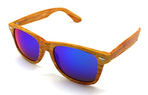 de NEW Vision Sol de Sun Pasta 400 Gafas S5599r UV Calidad Alta Madera Wayfarer RxdwcWFp