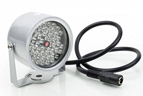Chariot trading - 48 LED illuminator Light CCTV IR Infrared Night Vision