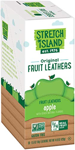(Stretch Island Apple Fruit Leather, 0.5-ounce Bags (Pack of 30))